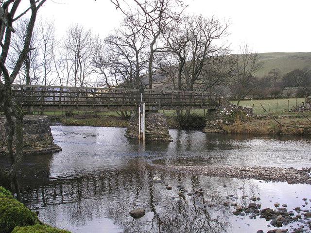 Bridge near Starbotton