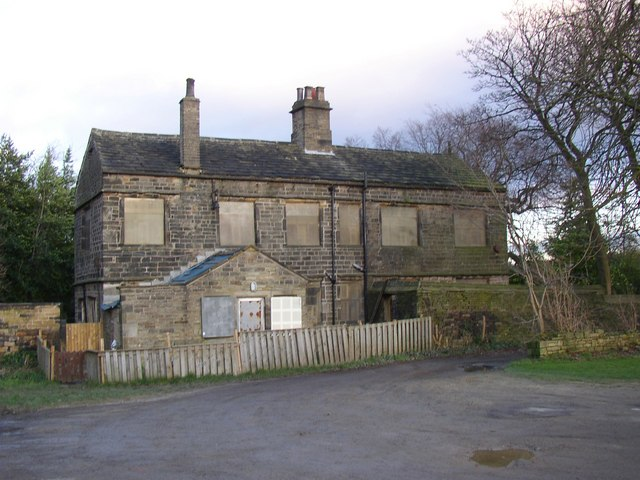 West wing of Newhouse Hall, Sheepridge, Fartown, Huddersfield