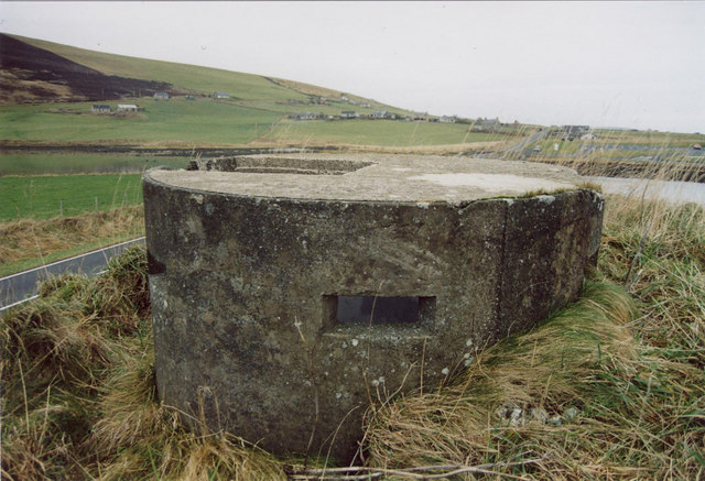 Pillbox on outskirts of Finstown