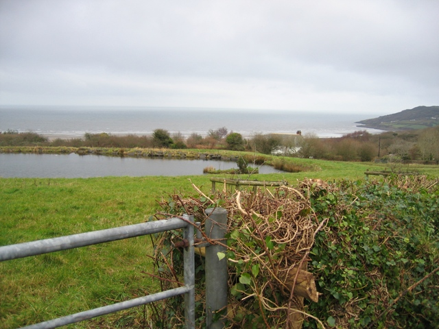 A Pond, a Field and Red Wharf Bay