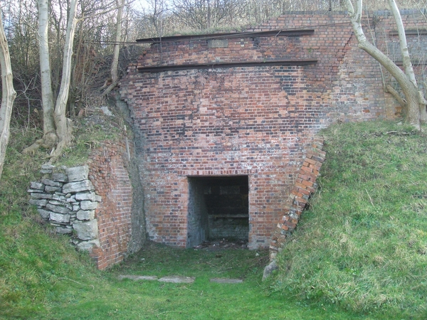 Lime kiln on the Wren's Nest
