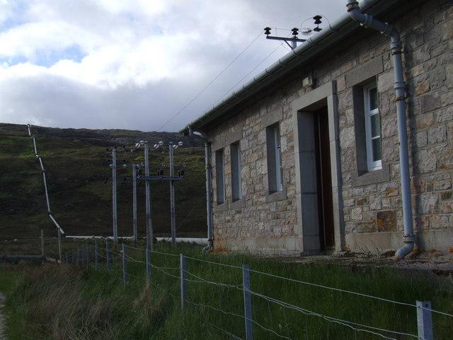 Loch Dubh Power Station & Penstock