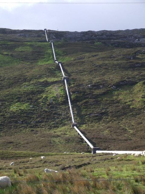 Loch Dubh Penstock
