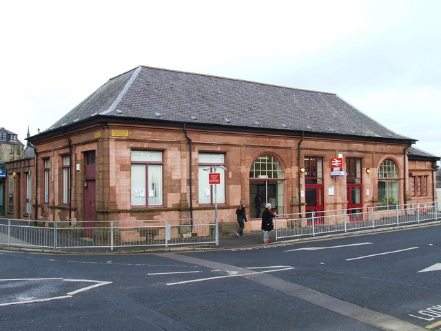 Greenock West Station
