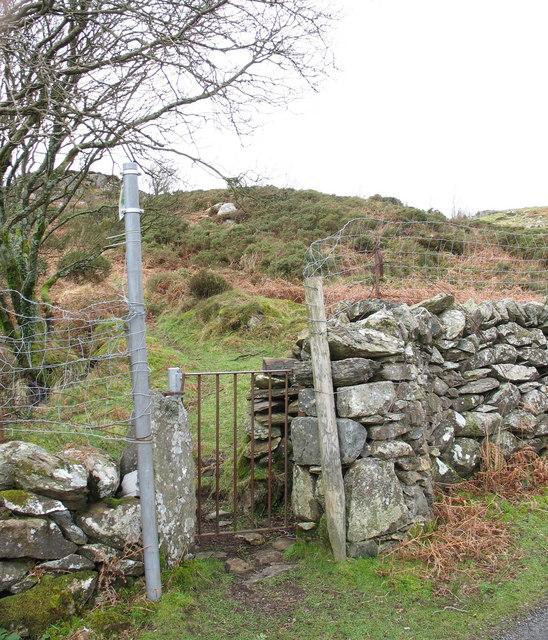 The path to Cefn Du