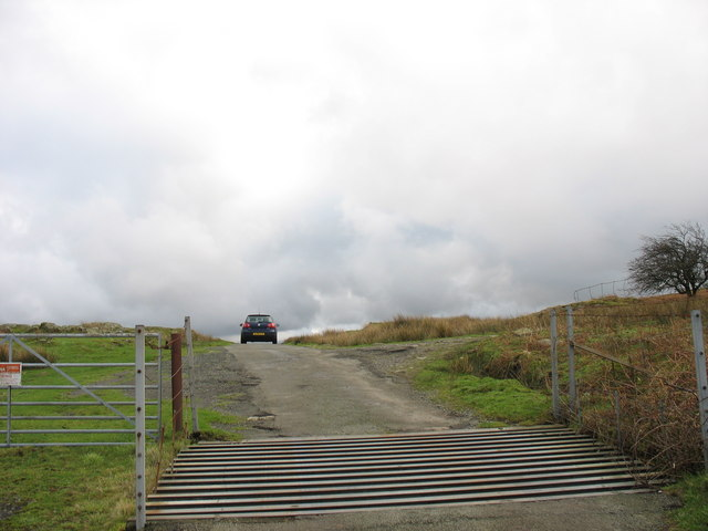 Cattle grid at Pen-y-bwlch