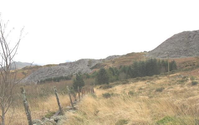 Quarryman's path to Cook&Ddol Quarries