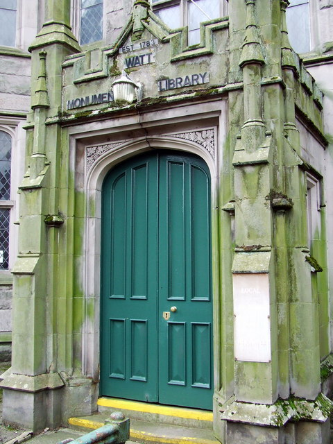 Watt Library entrance