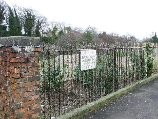 Site Of McNeil Baths