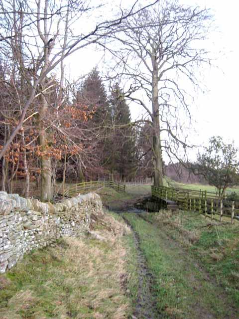 Three crossings of Thornhope Beck - 1