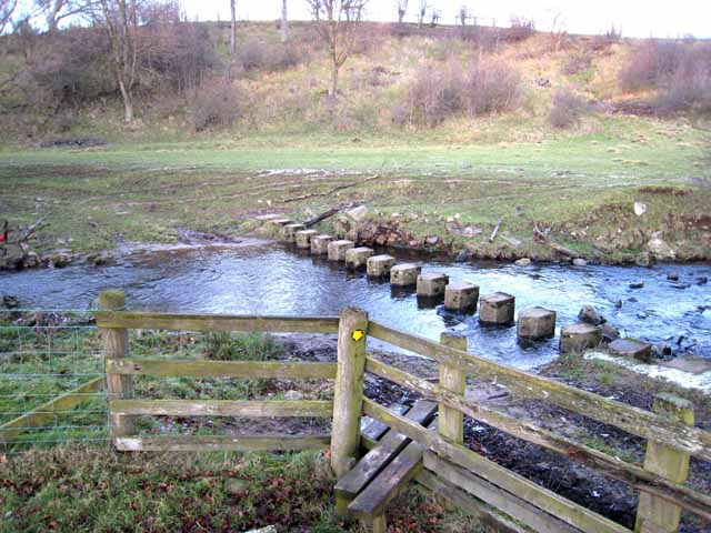 Three crossings of Thornhope Beck - 2