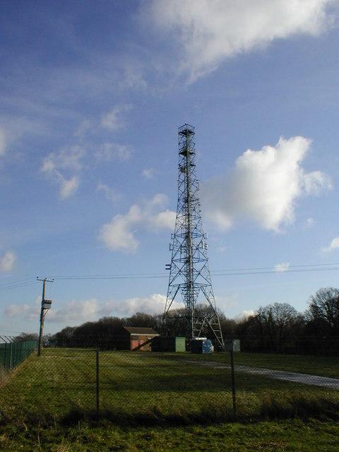 Dean Hill radio mast
