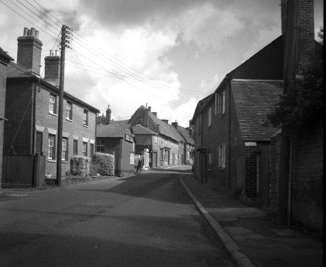 Street scene in Fordingbridge, Hampshire