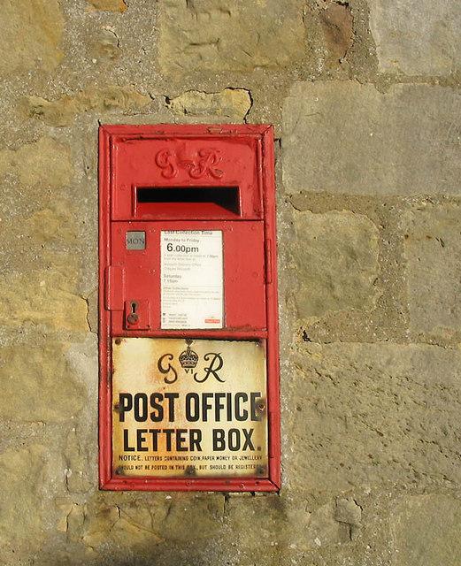 George VI Postbox at South Charlton