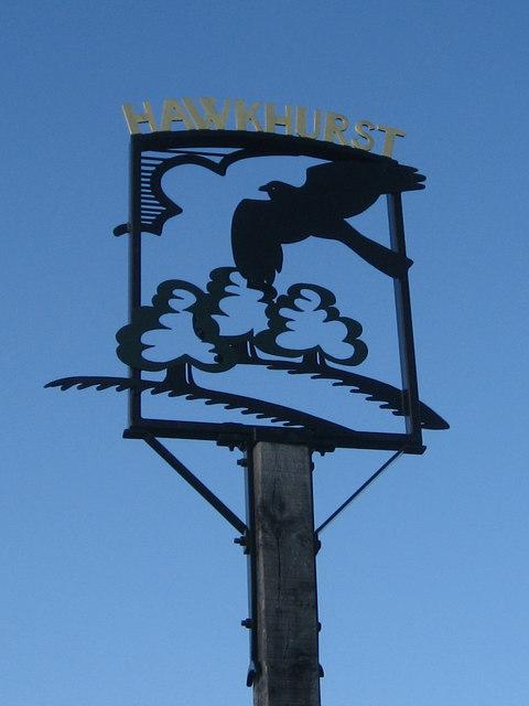 Hawkhurst sign