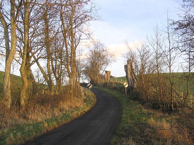A minor road at Eglingham