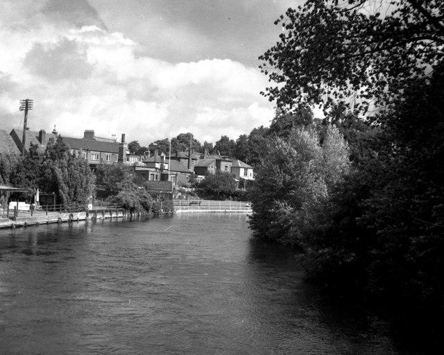 River Avon at Fordingbridge, Hampshire