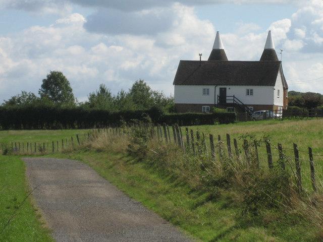 Husheath Oast, Husheath Hill, Curtisden Green, Kent