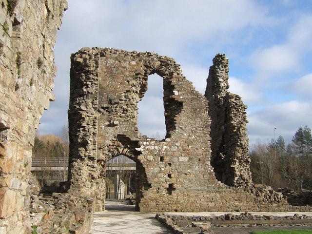 Haverfordwest priory ruins