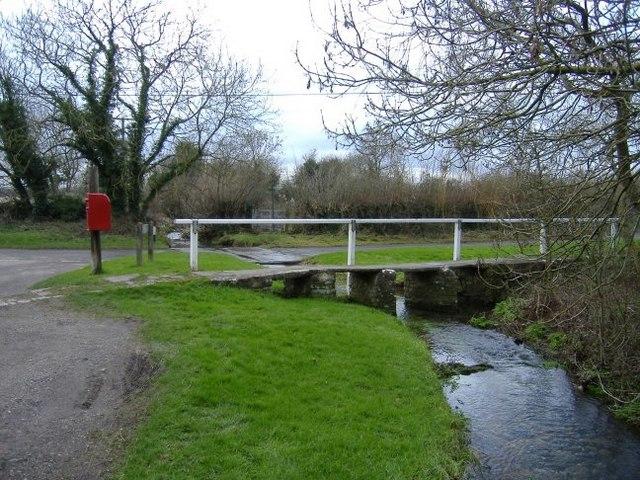 Footbridge and ford