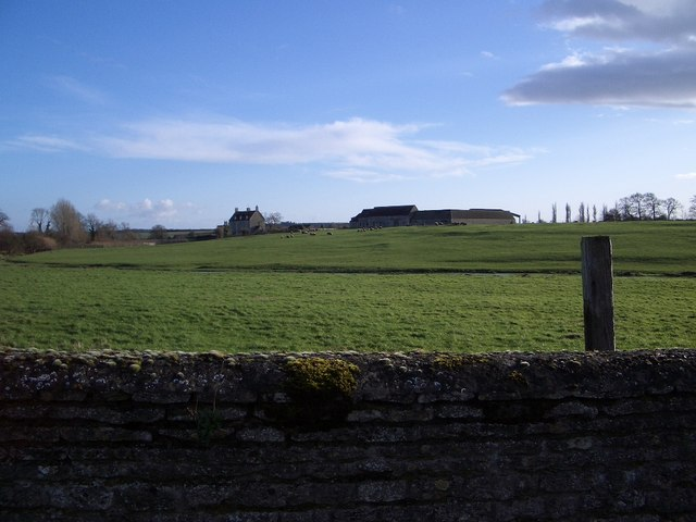The Manor House and Farm at Stoke Doyle