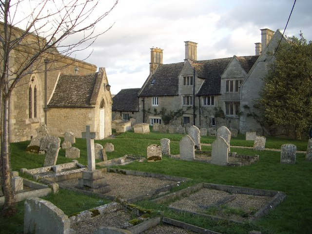 The Churchyard at Pilton
