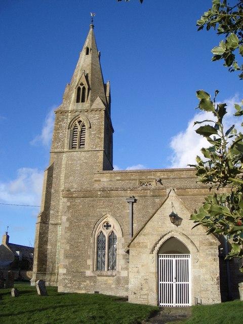 St Mary & All Saints Church Spire at Pilton