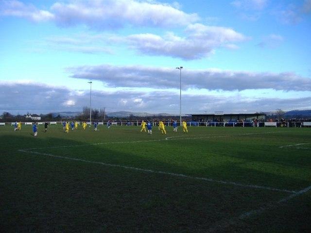 Main stand, Slimbridge FC