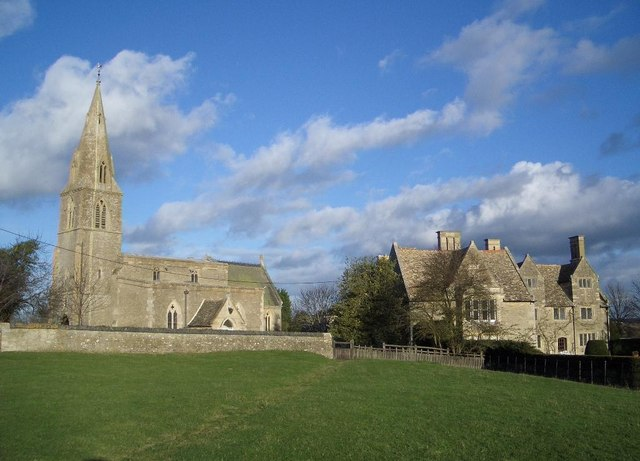 The Church & Manor House at Pilton