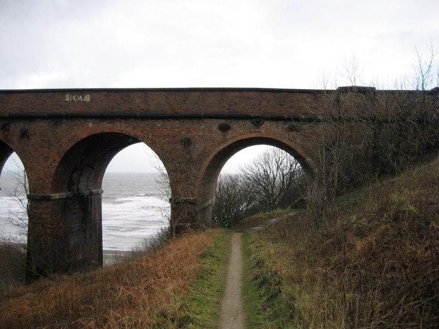 On the Coastal Path at Hawthorn Dene