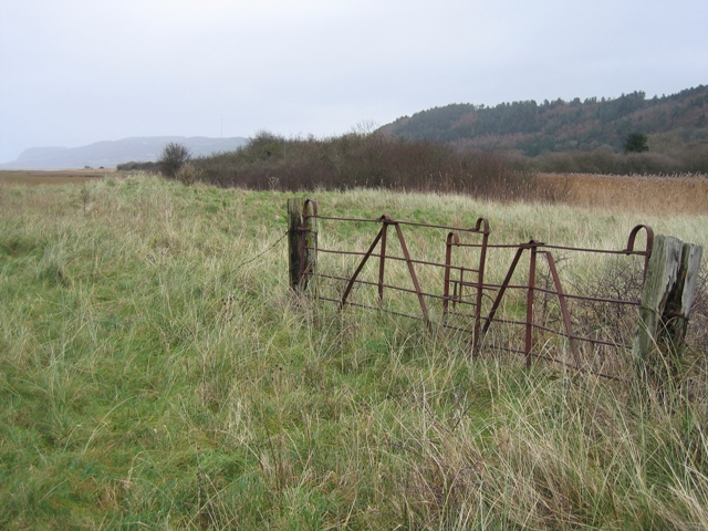 Redundant Gate at Red Wharf Bay