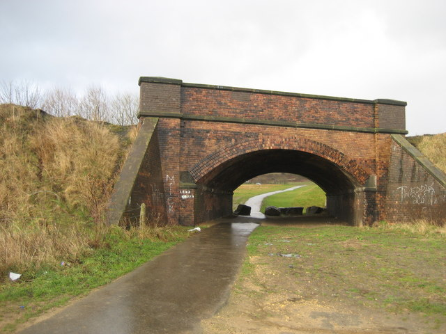 Bridge under Durham Coastal Railway
