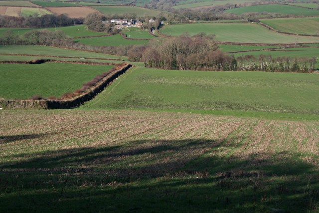 Farmland south of Cargentle