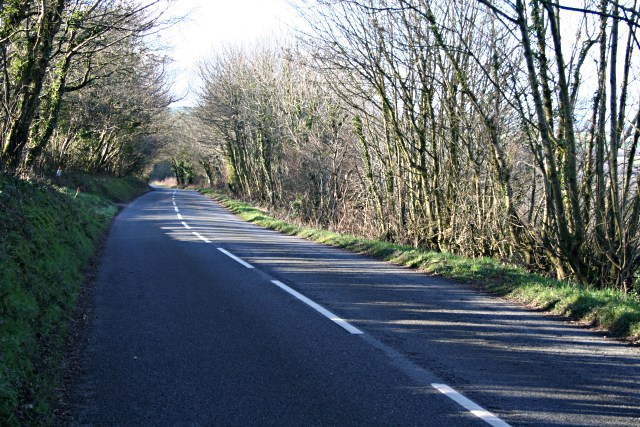 The Road from Launceston to Egloskerry
