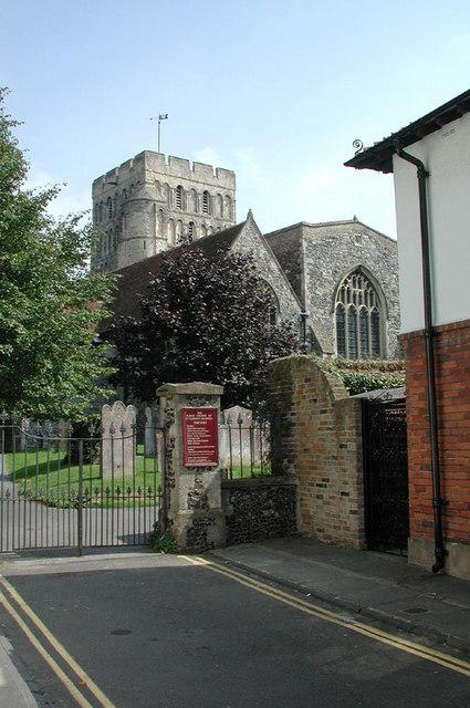 St Clement, Sandwich, Kent