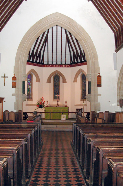 St Andrew, Shepherdswell, Kent - East end
