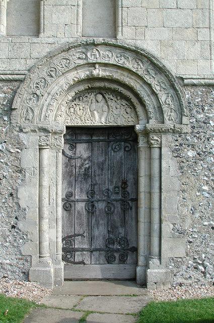 St Nicholas, Barfrestone, Kent - Doorway