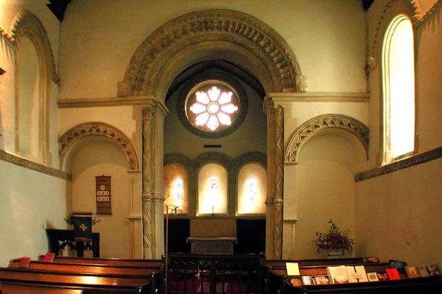 St Nicholas, Barfrestone, Kent - East end