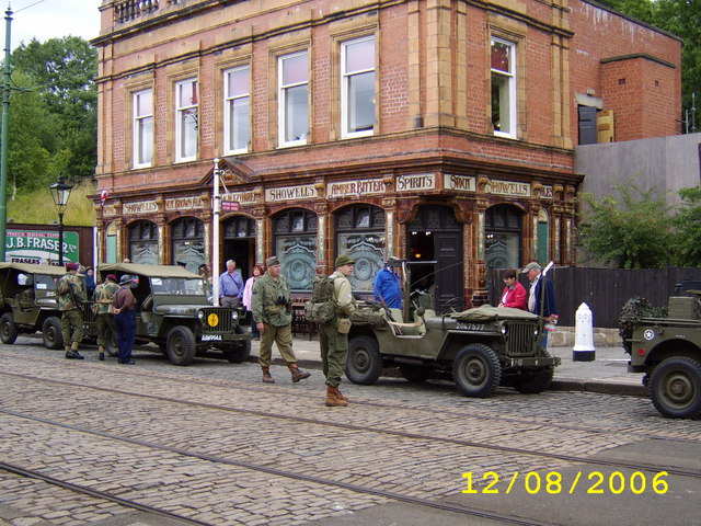 The Red Lion at Crich Tramway Museum