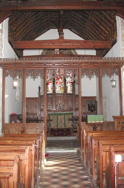 All Saints, Burmarsh, Kent - East end