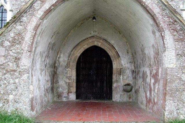 St Peter & St Paul, Newchurch, Kent - Porch