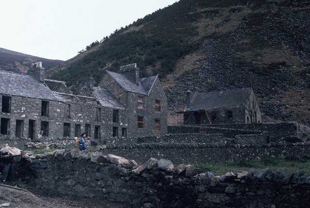 Porth-y-Nant before restoration
