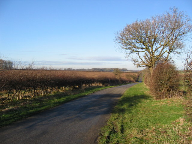 Road to Wold Newton