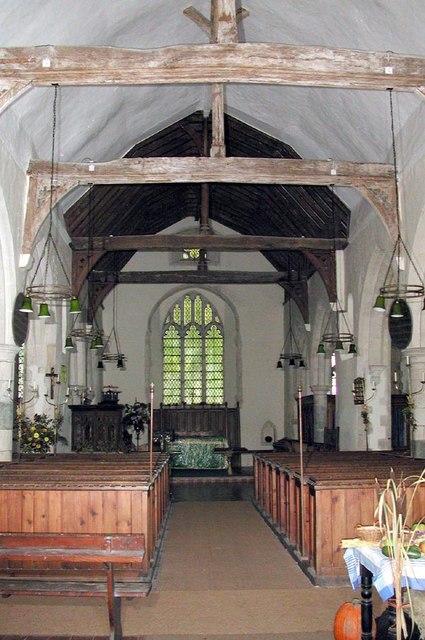St Dunstan, Snargate, Kent - East end