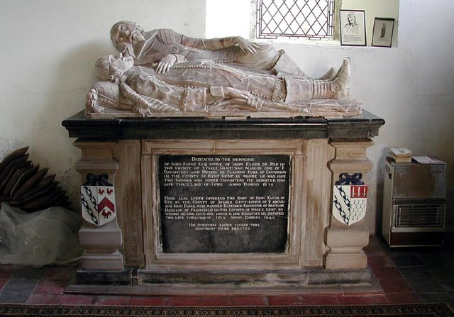 St Eanswith, Brenzett, Kent - Tomb chest