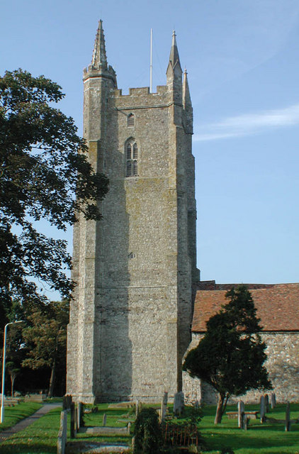 All Saints, Lydd, Kent - Tower