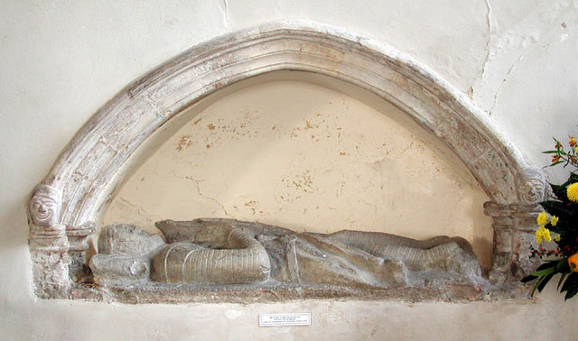 All Saints, Lydd, Kent - Recessed tomb