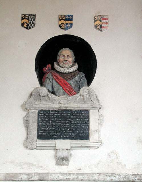 All Saints, Lydd, Kent - Wall monument