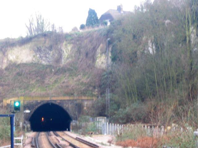 Higham Tunnel west portal