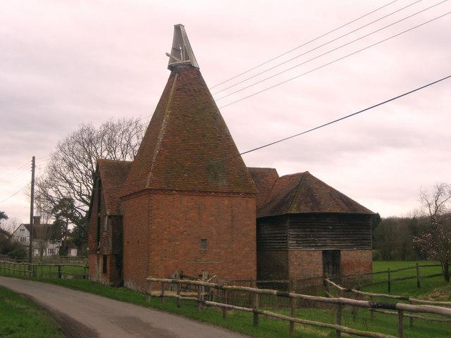 Oast House at Cherry Tree Farm, Mill Lane, Frittenden, Kent